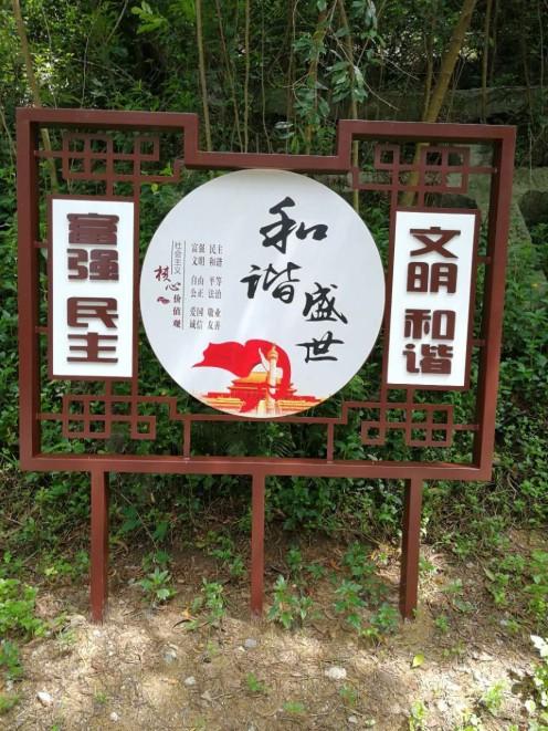 深圳宝安公园标识标牌整套
